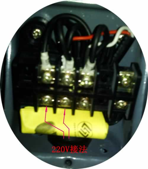 漩涡气泵三相电及单相电接线方法